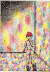 O amor - desenho post quarentena, um labirinto