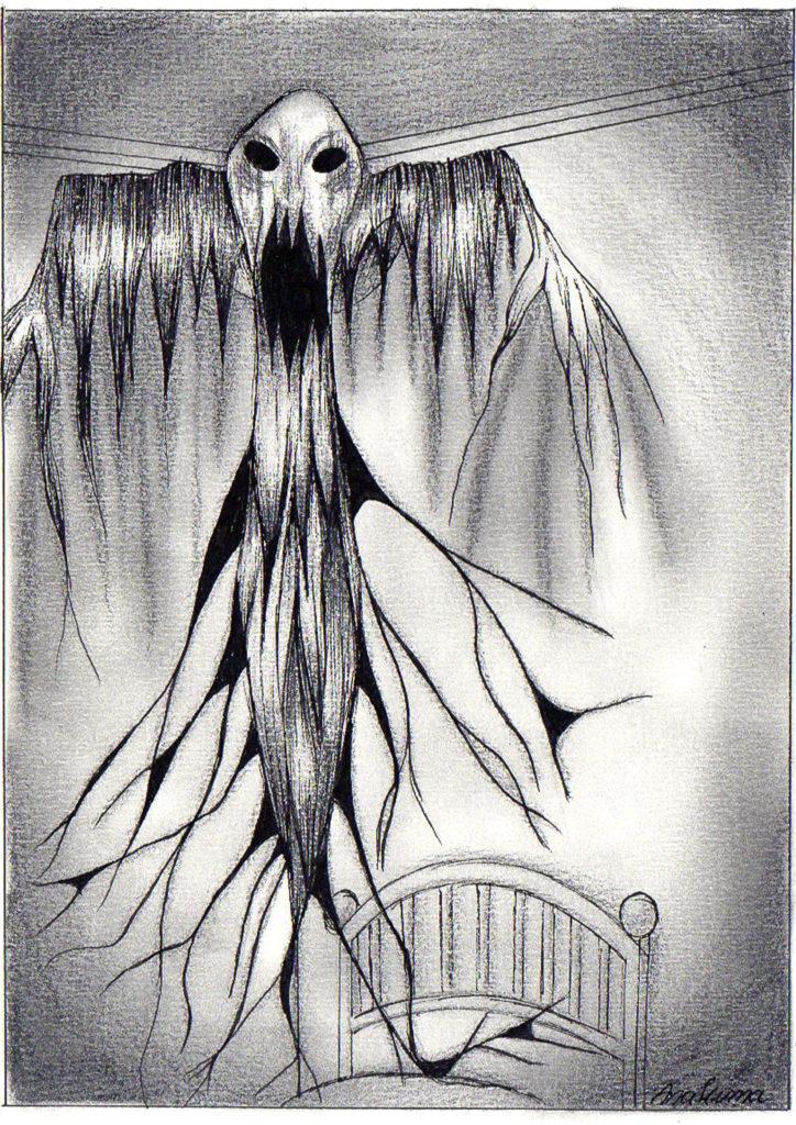 o medo quarentena - desenho um labirinto